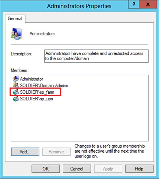 Windows Domain Group 36