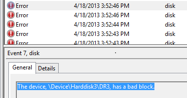 how storage spaces responds to errors on physical disks technetWindows Error 287 #6