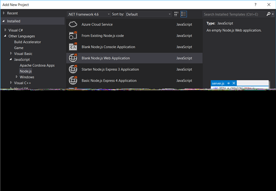 Visual Studio: Upload Files Or Images To Server Using Node