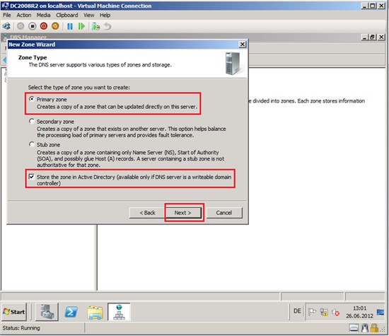 how to set my 2nd active directory to be primary