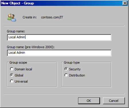 local administrator rights windows 7
