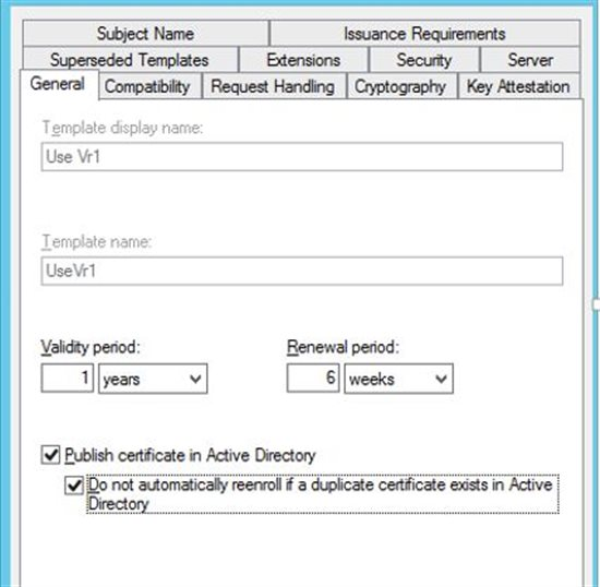 Certificate autoenrollment technet articles united states database to see if there are any certificates already published if there are it will not issue the new certificate rather will use the existing one yadclub Images