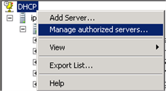 How to Prevent Rogue DHCP Servers on your Network - TechNet