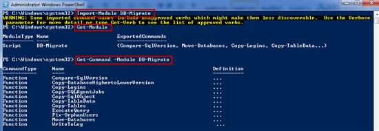 Import Database Migration Module