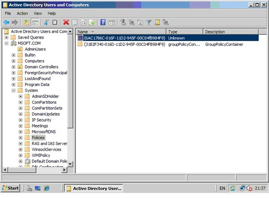how to change registry permission to administrator