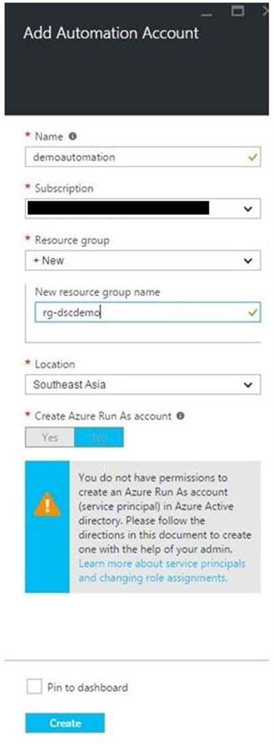 Getting Started With Azure Automation DSC