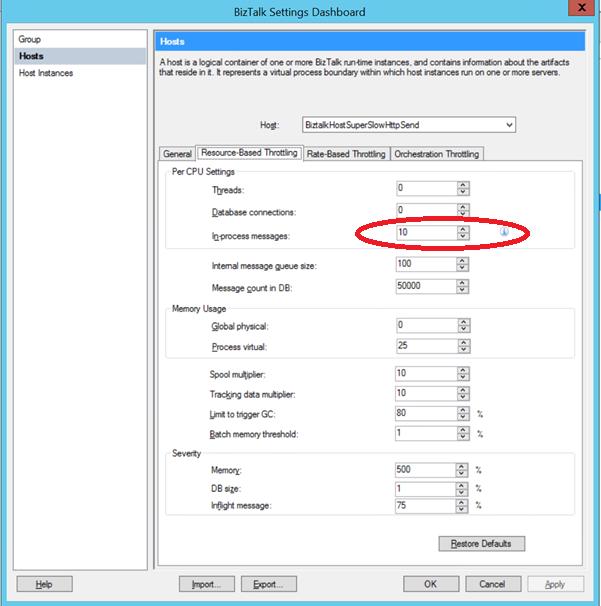 BizTalk Server: Tips for scaling for High Volume WCF calls