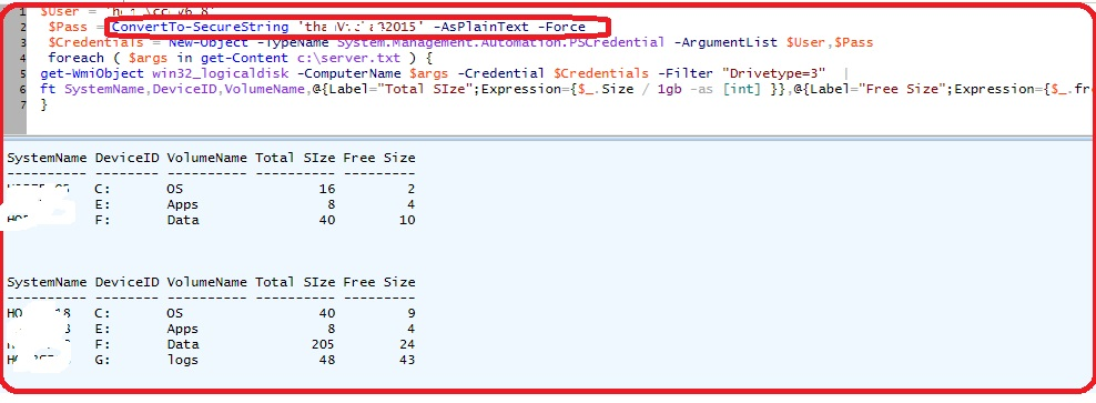 PowerShell: Disk Space Utilization Excel Report - TechNet