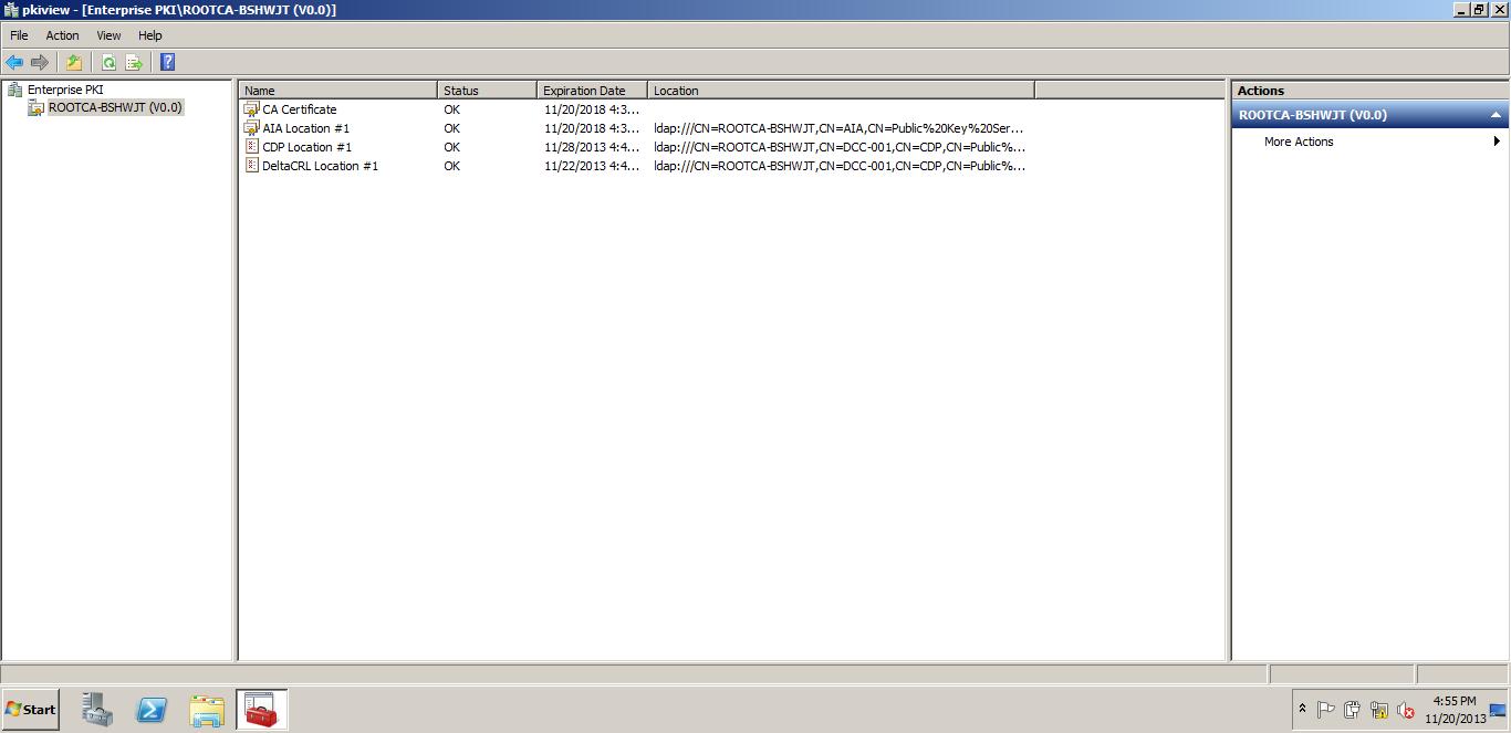 Upgrading The Pki From Windows Server 2008 R2 To Windows Server 2012