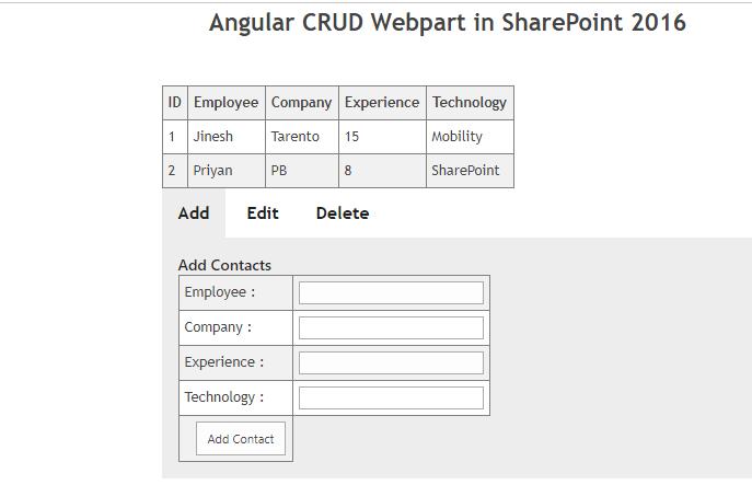 SharePoint Server 2016: Exploring Client Side Webparts
