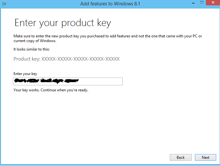 activation key windows 8.1 pro with media center