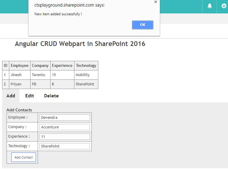 SharePoint Server 2016: Exploring Client Side Webparts Development