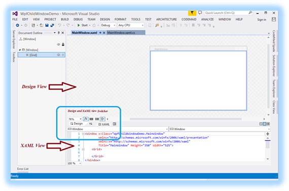 How to create your first WPF application - TechNet Articles