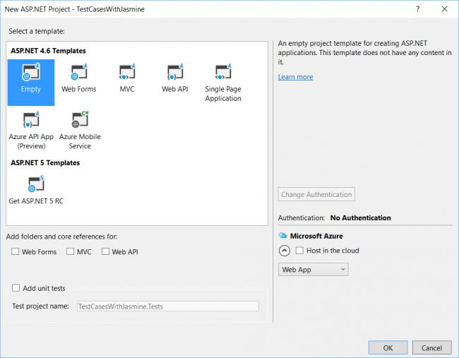 Visual Studio: Writing JavaScript Tests Using Jasmine Framework