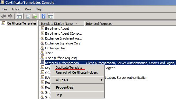 Ldap over ssl ldaps certificate technet articles united states duplicate template yadclub Choice Image