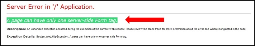 ASP.NET (WebForms) - Multiple HTML <form> Tags on a single WebForm ...