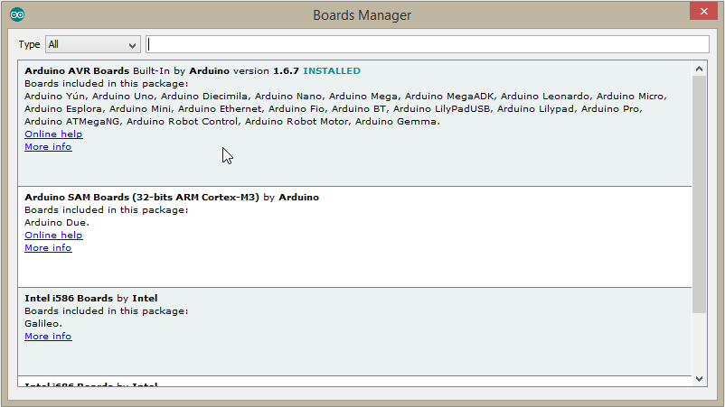 Arduino due software download