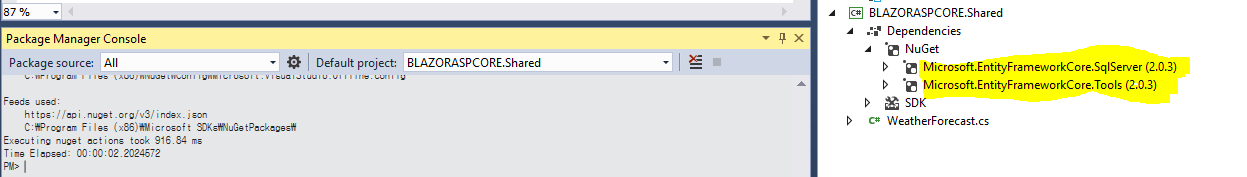 ASP NET Core Blazor CRUD using Entity Framework and Web API
