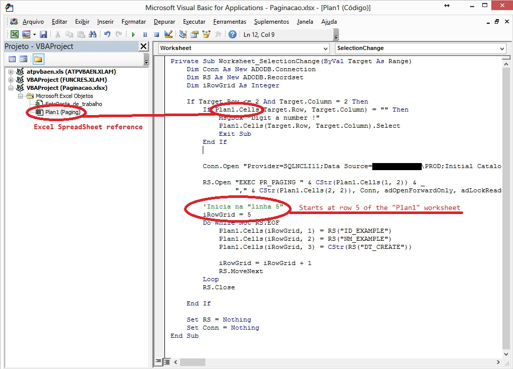 Automating a Data Paging using VBA on Excel - TechNet Articles ...
