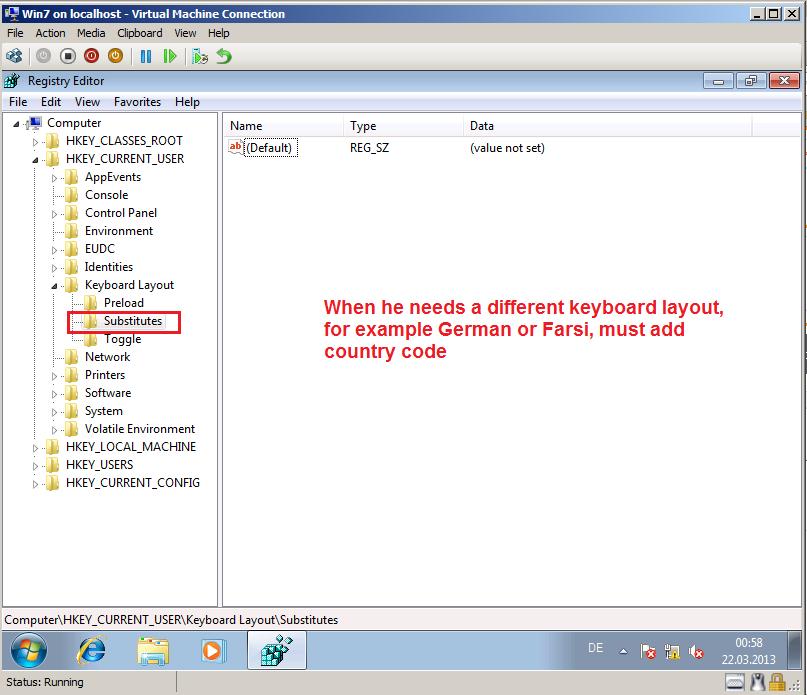 how to change keyboard language windows 10 registry
