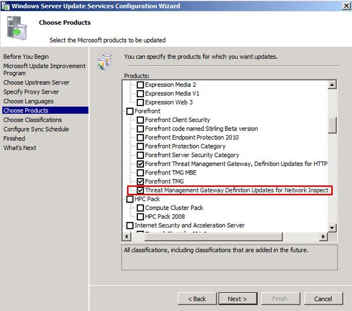 Forefront threat management gateway install.