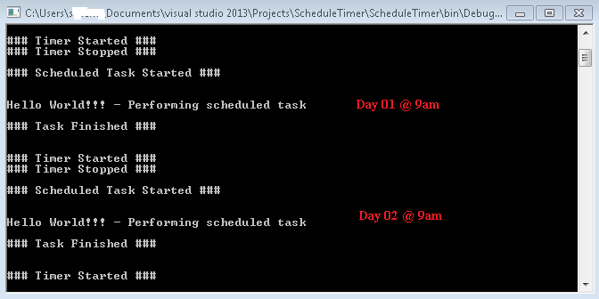 A simple timer example for the grasshopper c# component james.
