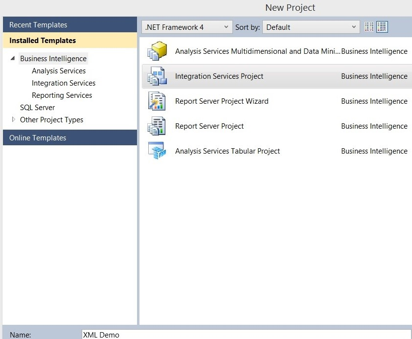 SSIS Step-by-step guide: Generate XML files for each row in