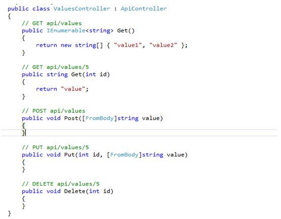 Getting Data Using Web API with ASP NET MVC - TechNet