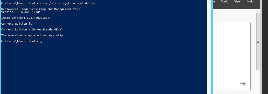 activator windows server 2012 r2 standard evaluation