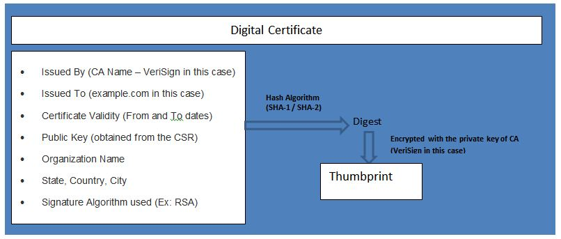 Active Directory Certificate Services - Part 1 : Digital Certificate ...