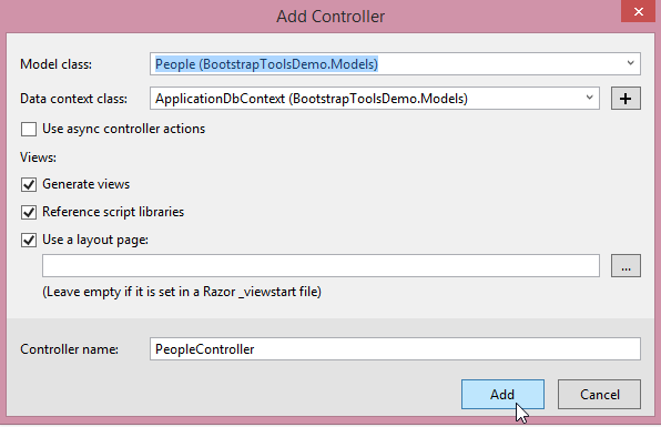 Visual Studio Tools for Bootstrap - TechNet Articles - United States
