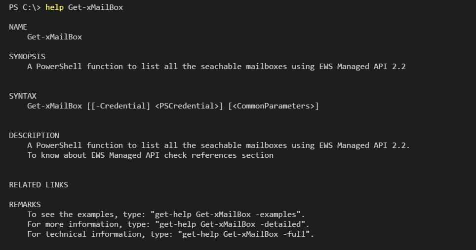 Retrieve Exchange Online Mailbox using EWS Managed API 2 2
