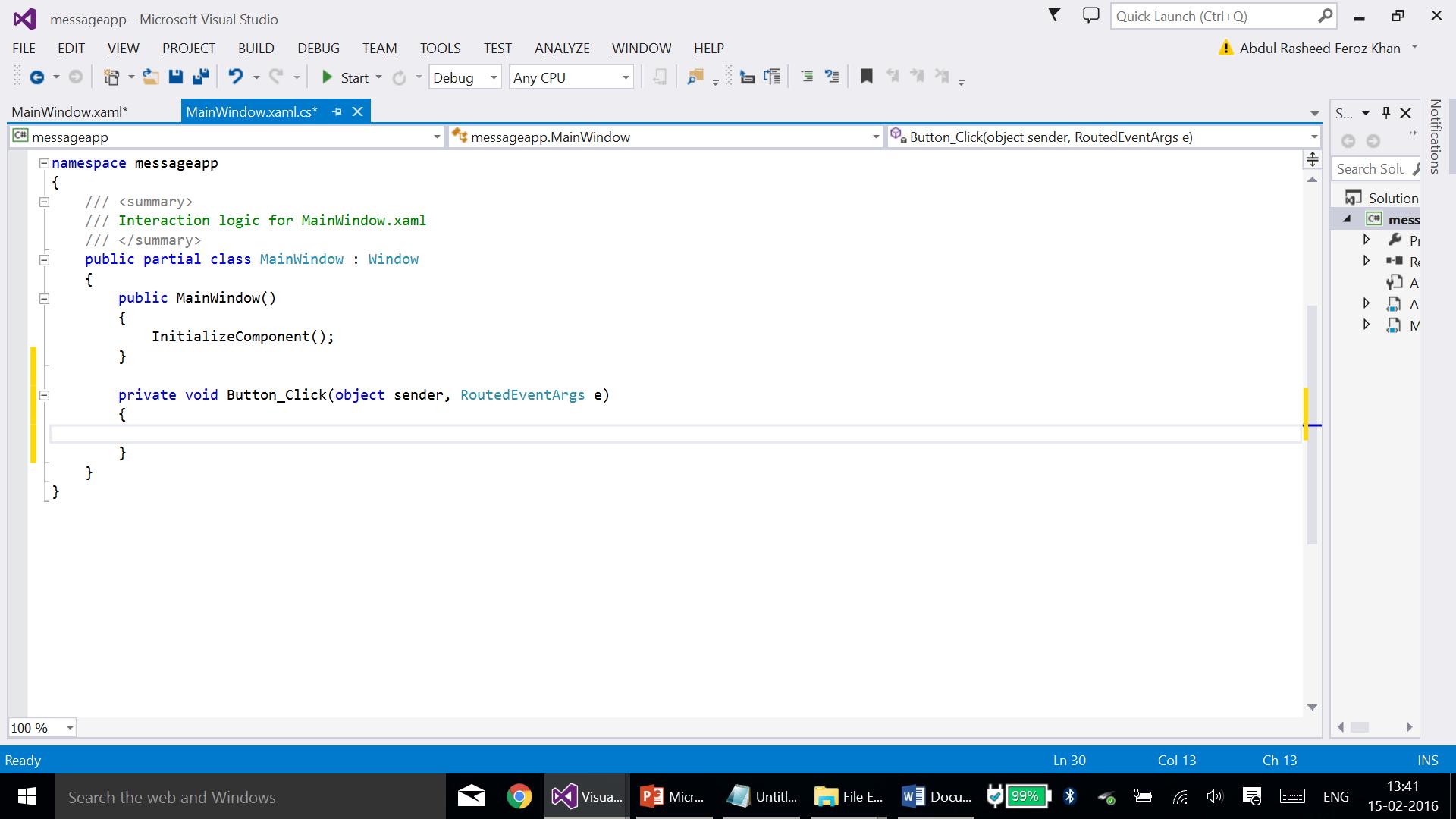 WPF: Creating a message pop-up window - TechNet Articles