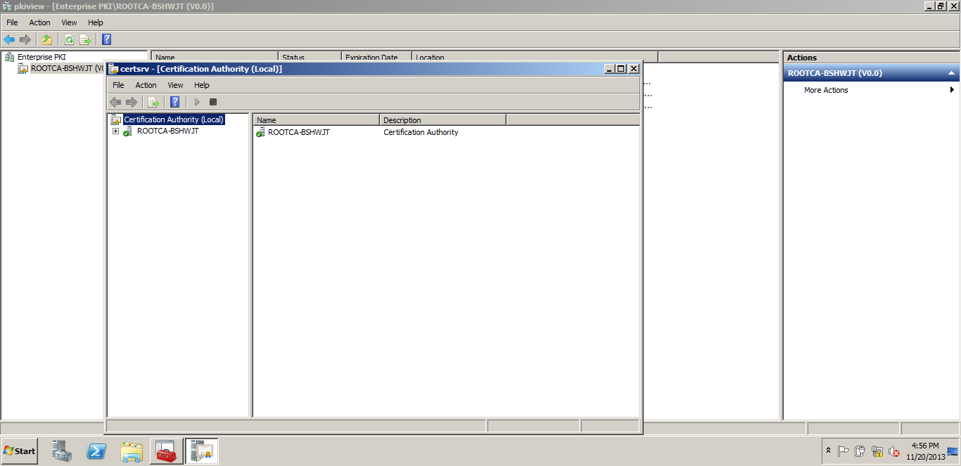 Upgrading the pki from windows server 2008 r2 to windows server backup the database pfx taking the backup from the certificate authority 1betcityfo Image collections