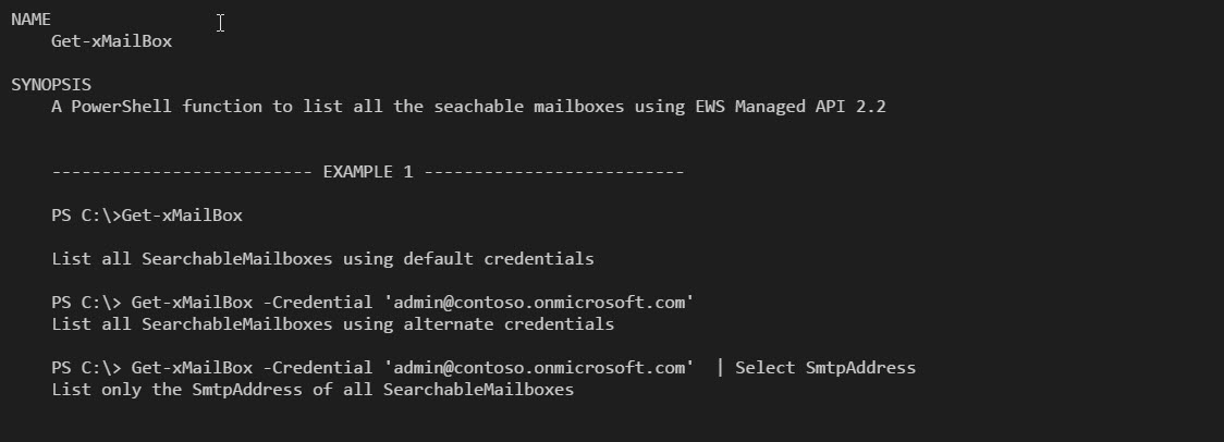 Create a new rule in Exchange Online Mailbox using EWS