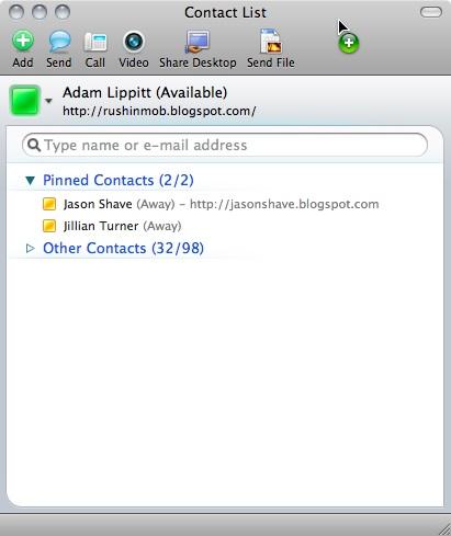 Shoretel communicator for mac