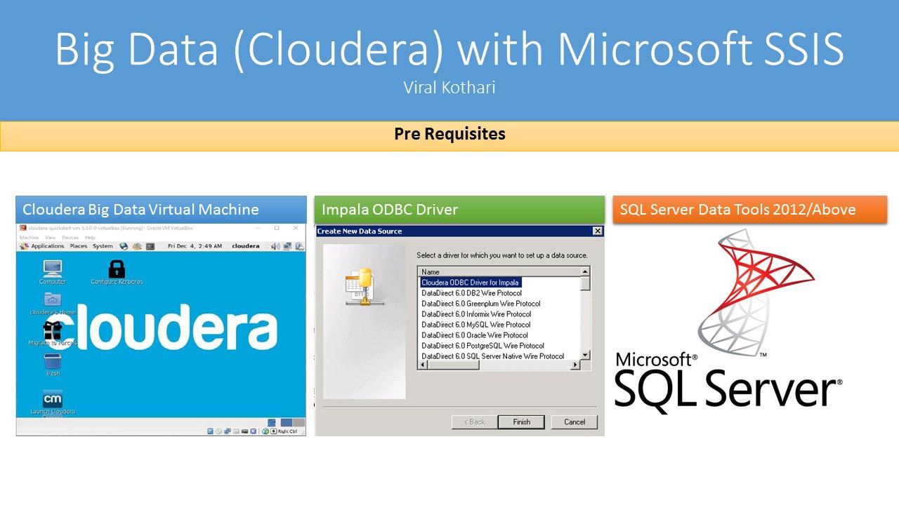 Use Microsoft SSIS to Interact with Big Data (Cloudera