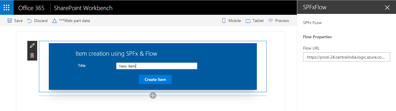SharePoint Framework(SPFx) webpart with elevated privileges using MS