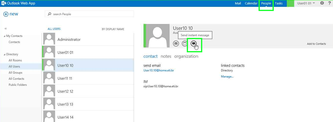 Integrate Exchange 2013 OWA and Skype for Business 2015