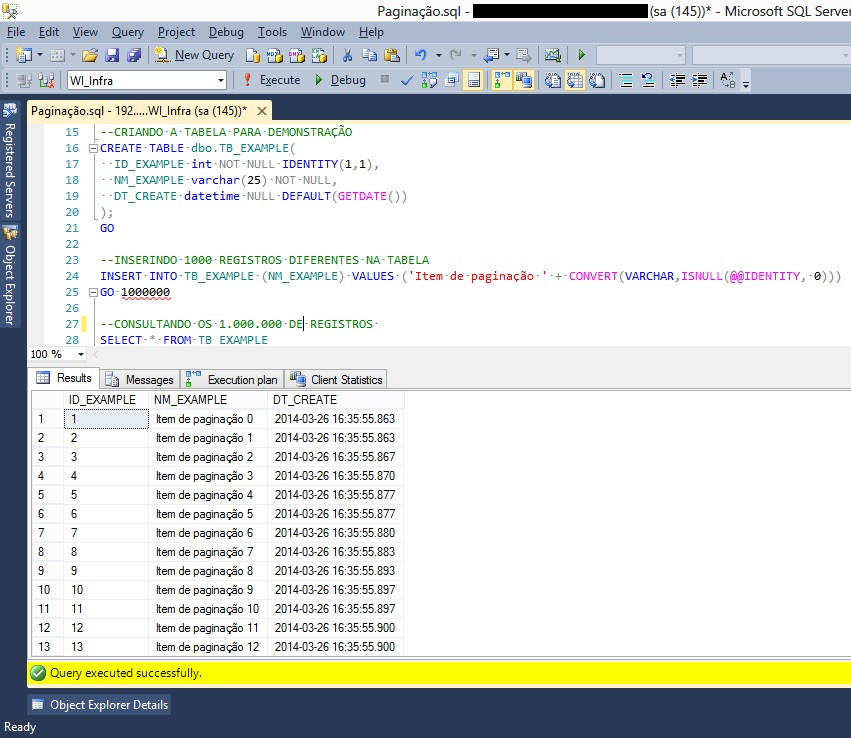Paging a Query with SQL Server - TechNet Articles - United