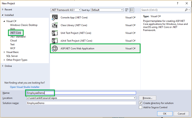 ASP NET Core 2 0: CRUD Operation With Razor Pages - TechNet Articles