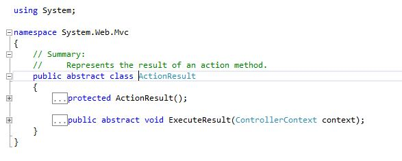 Different Types Of Action Results In ASP NET MVC - TechNet Articles