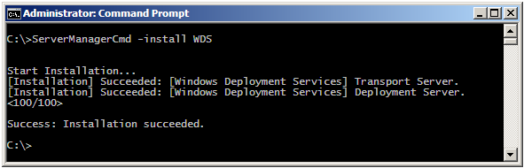 How to Install Windows Deployment Services role in Windows