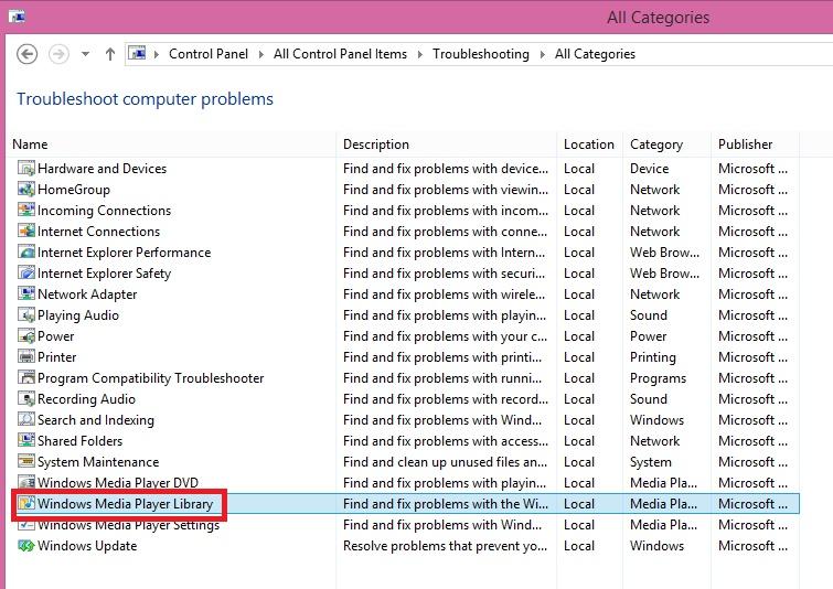 media player for windows 8.1 pro