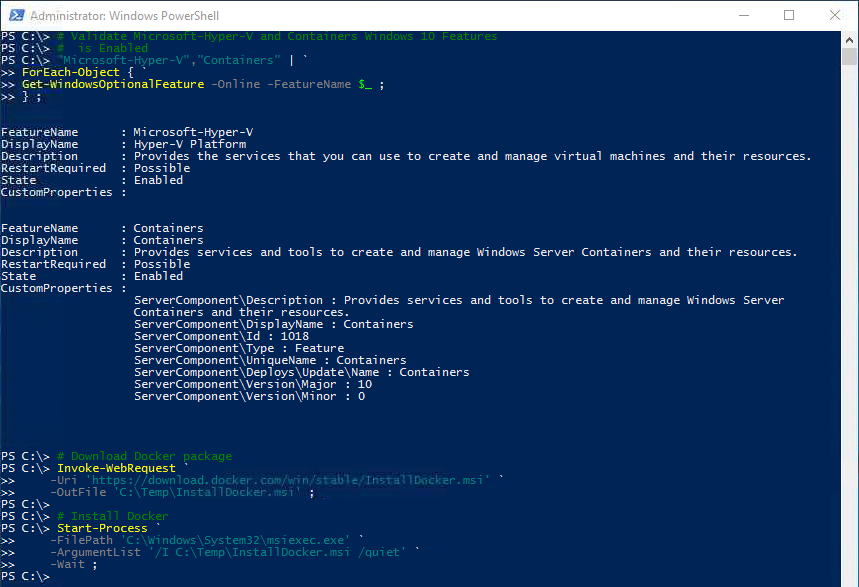 Windows Server Insider: Getting Started in Container with Docker