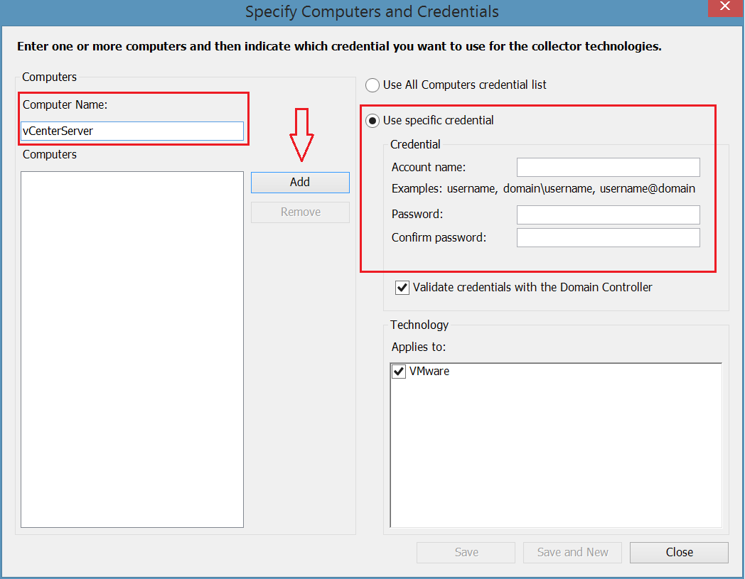 MAP: How to inventory your VMware environment - TechNet