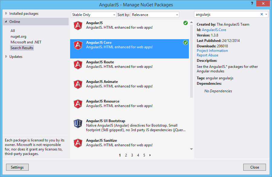 Contact List using MVC5, AngularJS and Redis: Part 3 - How to Setup