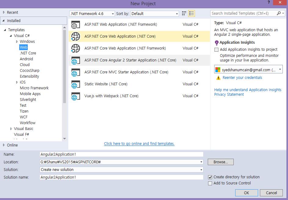 Asp core template pack technet articles united states create asp core angular 2 application maxwellsz