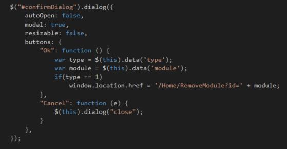 ASP NET Core : Advanced JQuery dialog actions - TechNet
