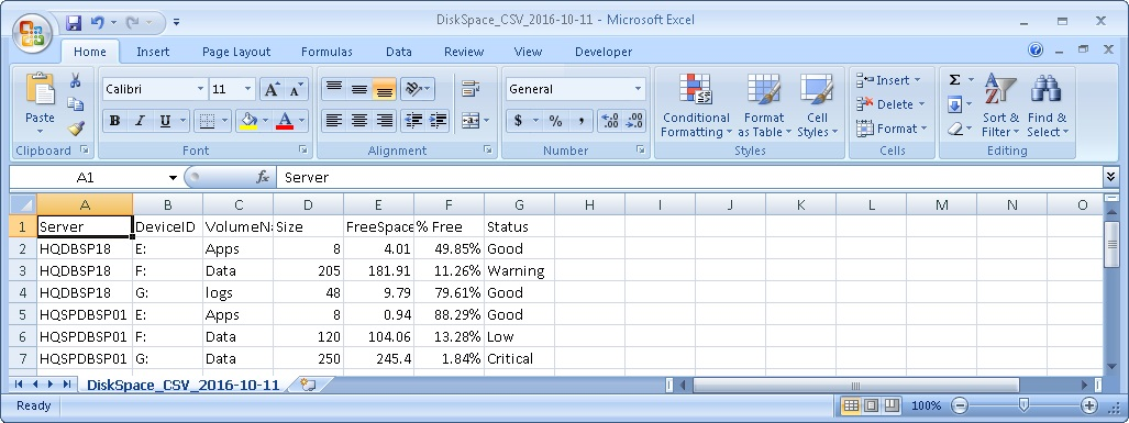 Windows Server Step by Step: Disk Space Monitoring Guide